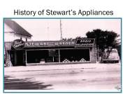 Stewart's TV & Appliance is a local family owned TV and appliance store serving Elyria, all of Lorain County and surrounding counties since 1946.