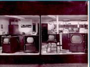 Selecting a new TV was easy back then. It was really a choice of cabinet style. All TVs were Black and White and we only had VHF so in the Cleveland area that meant you had three choices to watch. A test pattern on channel 3, 5 or 8 during most hours of the day. Most broadcasting was in the evening then what we call Prime Time today.