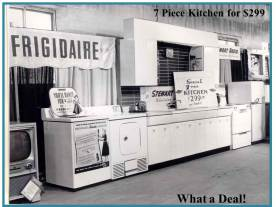 By the mid 1950's we became a Frigidaire dealer and began selling appliances. We are one of the oldest Frigidaire dealers in the country today. Before appliance stores like us were around the only way you could by a refrigerator was through Ohio Edison.
