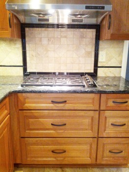 Joan loves her new Wolf Gas cooktop