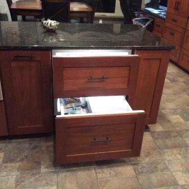 subzero integrated drawers