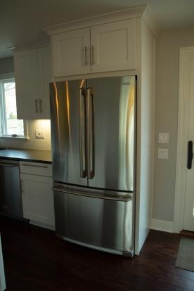 Electrolux refrigerator and dishwasher