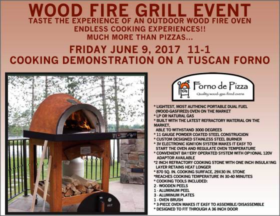 Wood Fire Grill Event